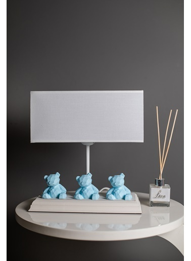 Misto Home Abajur 3 Bear Mavi Mavi